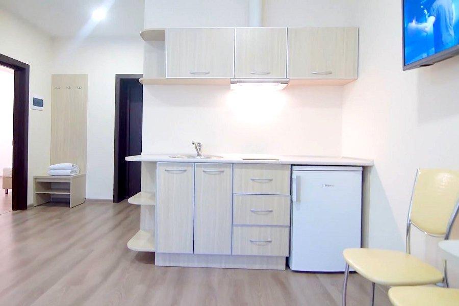 Апартаменты трехкомнатные в Корпусе № 5 санатория им. Кирова