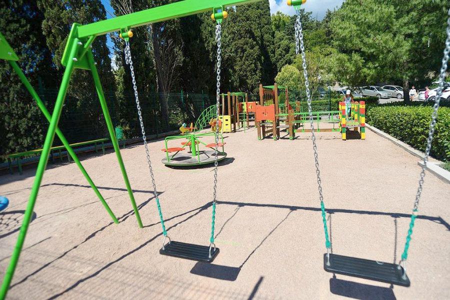 Детская площадка санатория им. Кирова