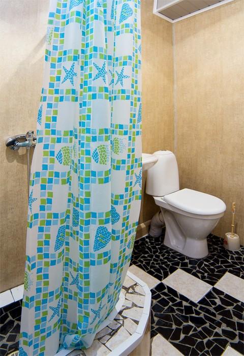 Туалетная комната Улучшенного 3-х местного номера пансионата Колхида