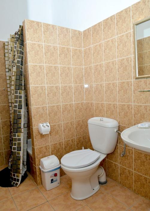 Туалетная комната номера Стандарт отеля Корона