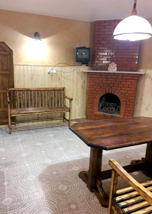 Комната отдыха в бане отеля Корона