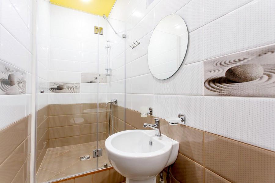 Туалетная комната Стандартного номера отеля Korshikoff