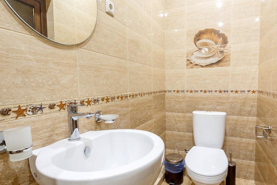 Туалетная комната номера Люкс отеля Korshikoff