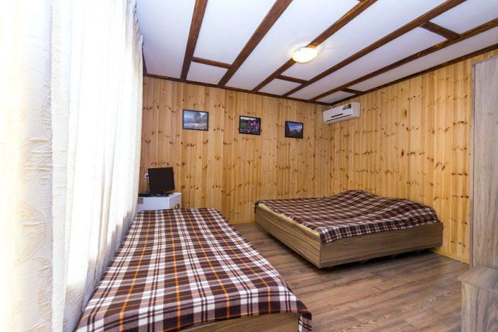 Номер отеля Ковчег, Лдзаа, Пицунда, Абхазия