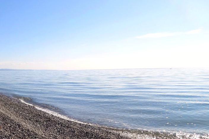 Пляж в пос. Гячрыпш