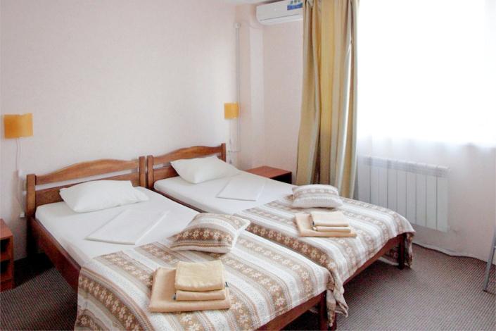 Стандарт двухместный без балкона гостиницы Крымская Ницца