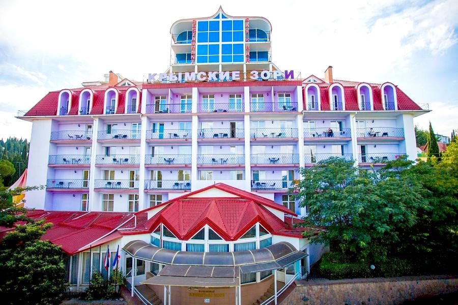 Санаторий Крымские зори, Алушта, Крым