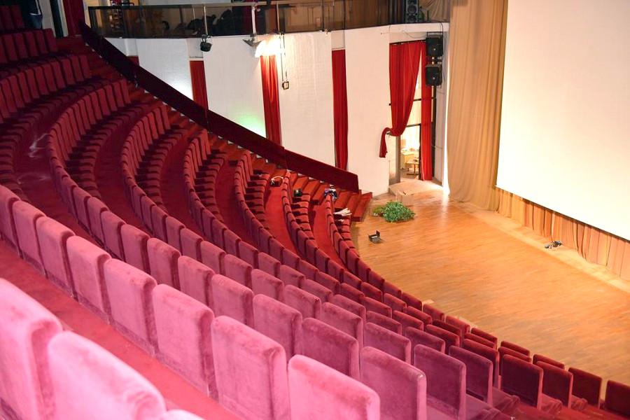 Киноконцертный зал в Корпусе Дружба санатория Курпаты