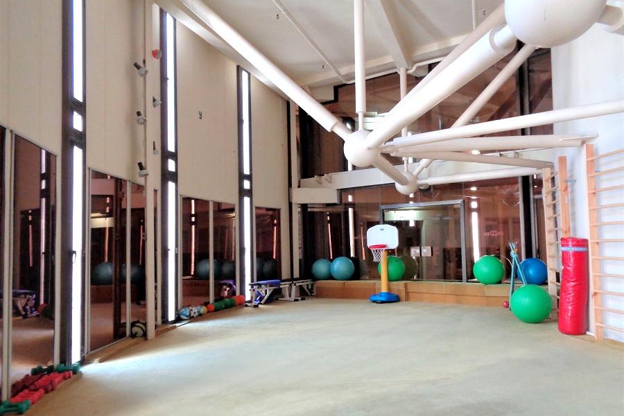 Тренажерный зал в Корпусе Дружба санатория Курпаты