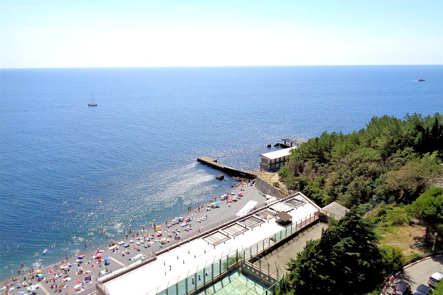 Пляж санатория Курпаты