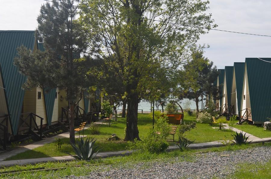 Территория пансионата Кяласур