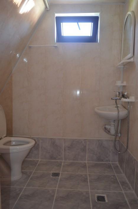 Туалетная комната в коттедже пансионата Кяласур
