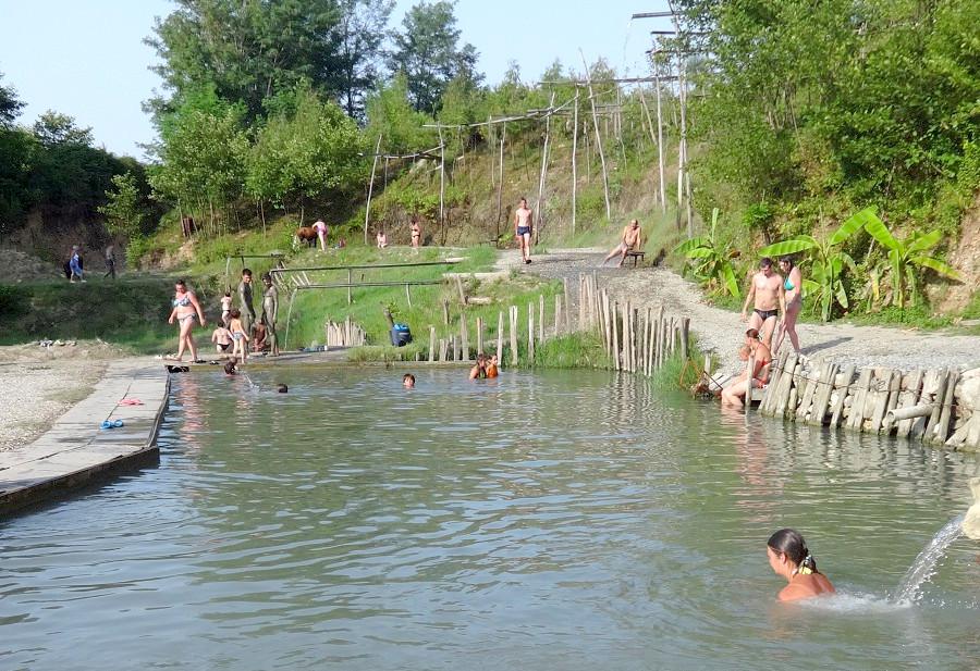 Термальные источники села Кындыг, Абхазия, Очамчырский район