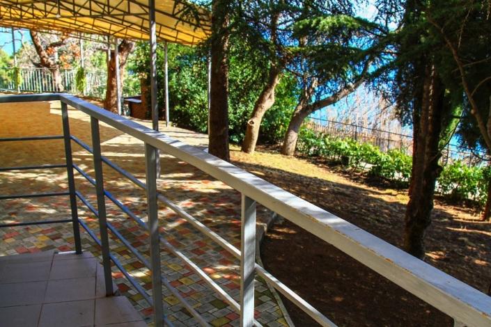 Балкон номера Стандарт в Корпусе Аврора пансионата Ласковый берег