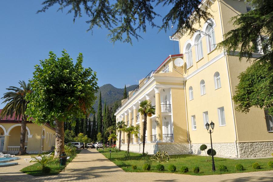 Пансионат Лазурный берег, Гагра, Абхазия