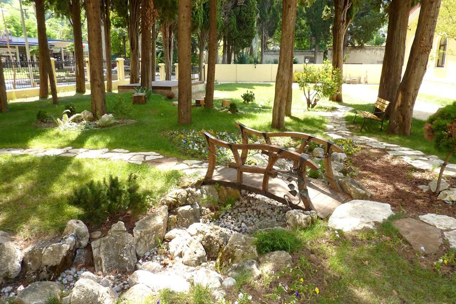 Территория пансионата Лазурный берег, Гагра, Абхазия