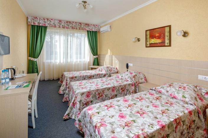 Стандарт трехместный парк-отеля Лазурный берег
