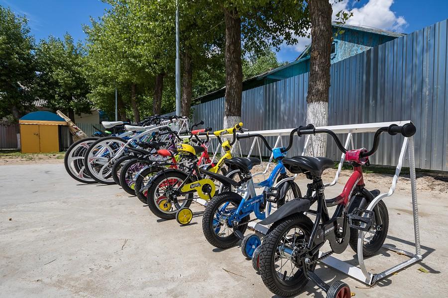 Прокат велосипедов на территории парк-отеля Лазурный берег