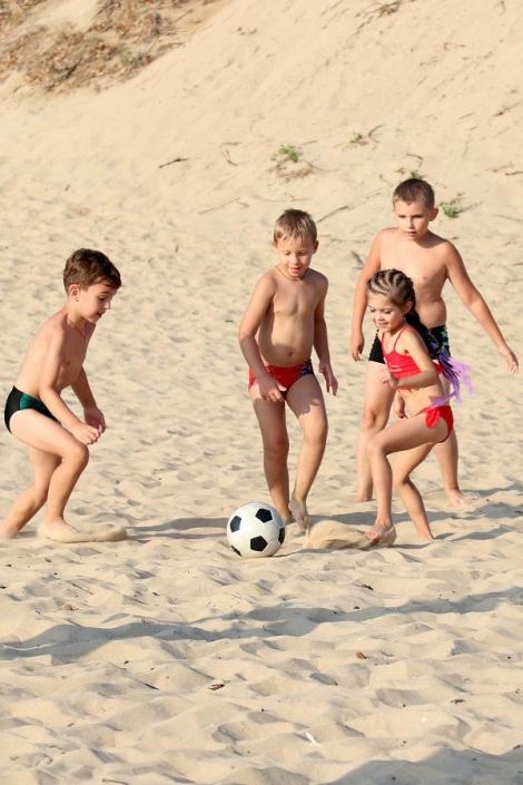 Пляж парк-отеля Лазурный берег