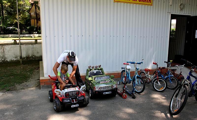Прокат велосипедов и спортинвентаря санатория Лазурный берег, Сочи