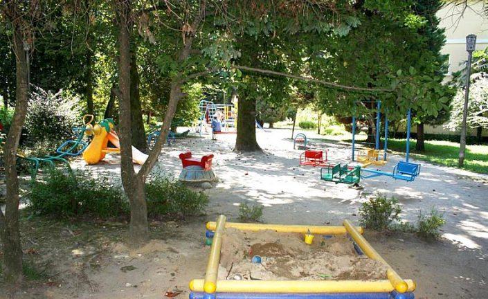 Детская игровая площадка санатория Лазурный берег, Сочи
