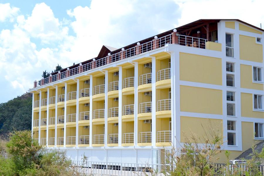 Гостиница Легенда, Алушта, Крым