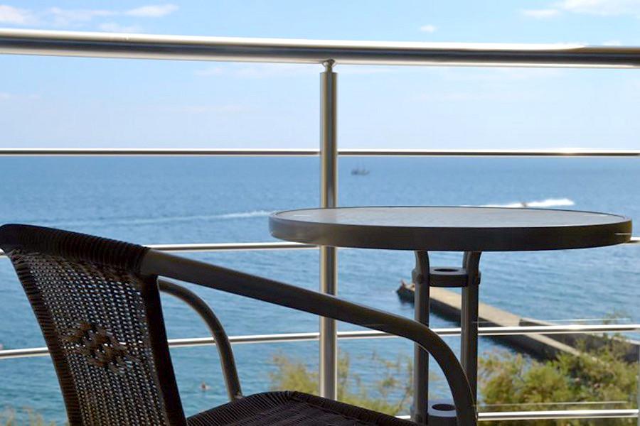 Балкон Стандартного номера гостиницы Легенда