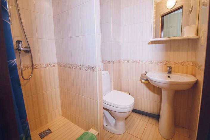 Туалетная комната Стандартного номера отеля Лиана