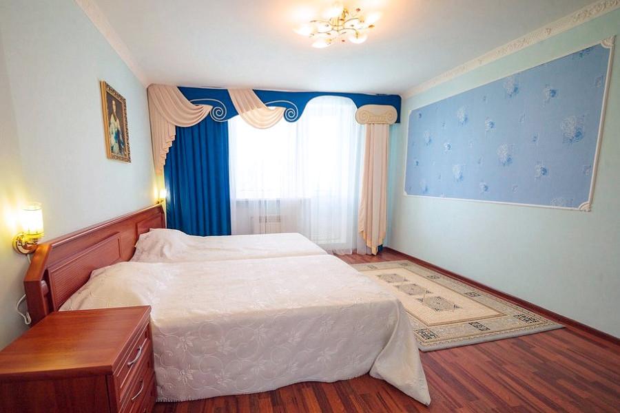 Апартаменты четырехместные трехкомнатные отеля Лиана
