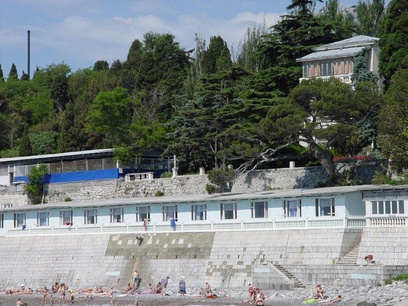 Корпус Климатопавелион курортного комплекса Лиго Морская