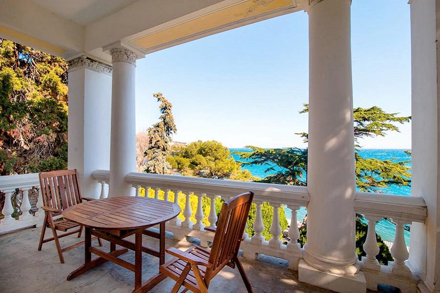 Полулюкс Улучшенный двухместный с верандой и видом на море в курортном комплексе Лиго Морская