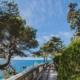 Набережная курортного комплекса Лиго Морская