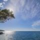 Вид на море с набережной курортного комплекса Лиго Морская