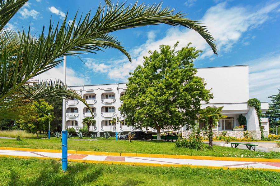 Семейный корпус пансионата Литфонд, Пицунда, Абхазия