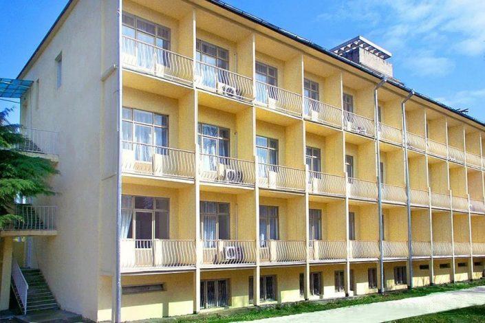 Новый корпус пансионата Литфонд, Пицунда, Абхазия