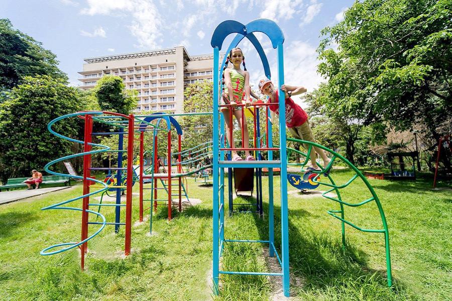 Детская площадка пансионата Литфонд