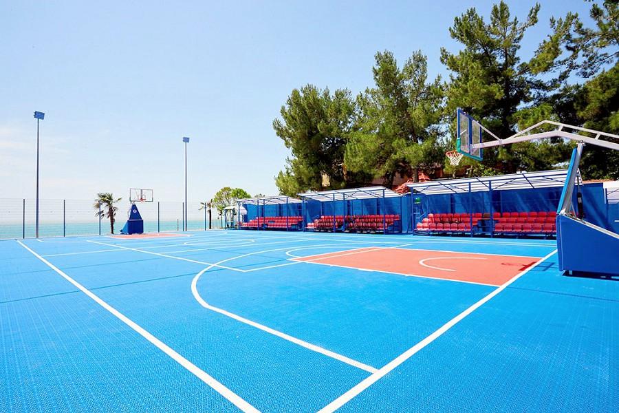 Спортивная площадка пансионата Литфонд