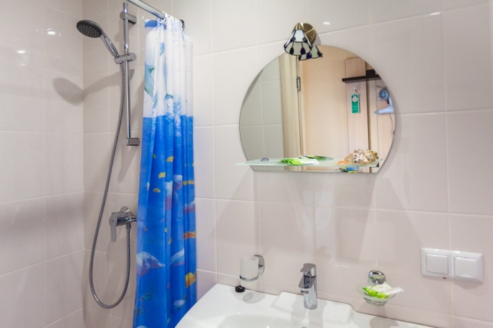 Туалетная комната Стандартного номера спа-отеля Ливадийский