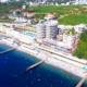 Пляж курортного комплекса Ливадийский, Крым, Ялта, Ливадия