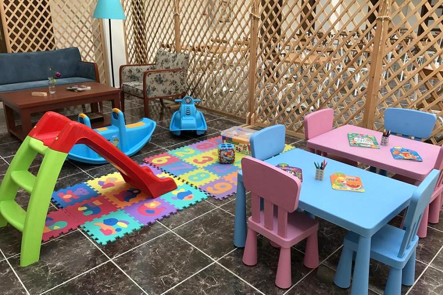 Детский игровой уголок отеля Lucette