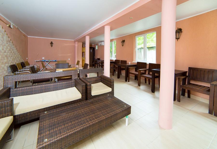 Кафе гостиницы Лулу