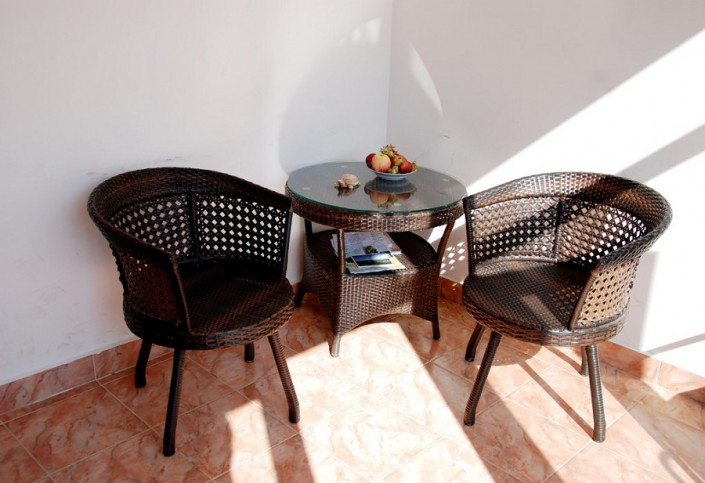 Летняя терраса гостиницы Лулу