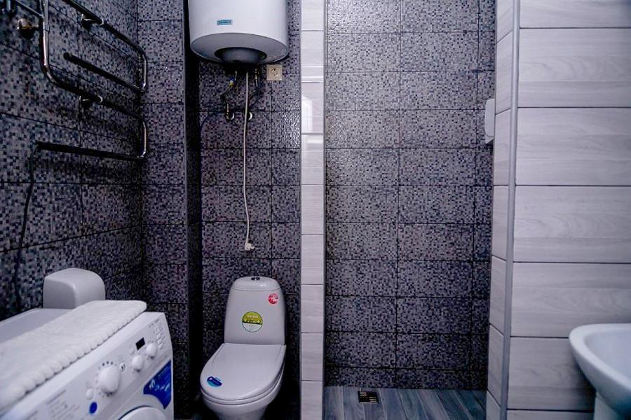 Туалетная комната номера Комфорт в отеле Мадрид Парк 2