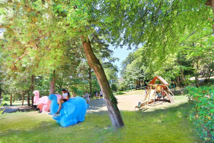 Детская площадка санатория Магадан