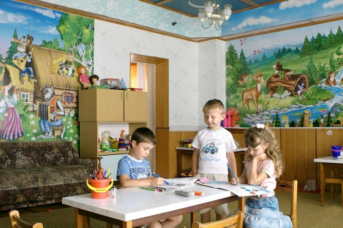 Детская комната санатория Малая бухта
