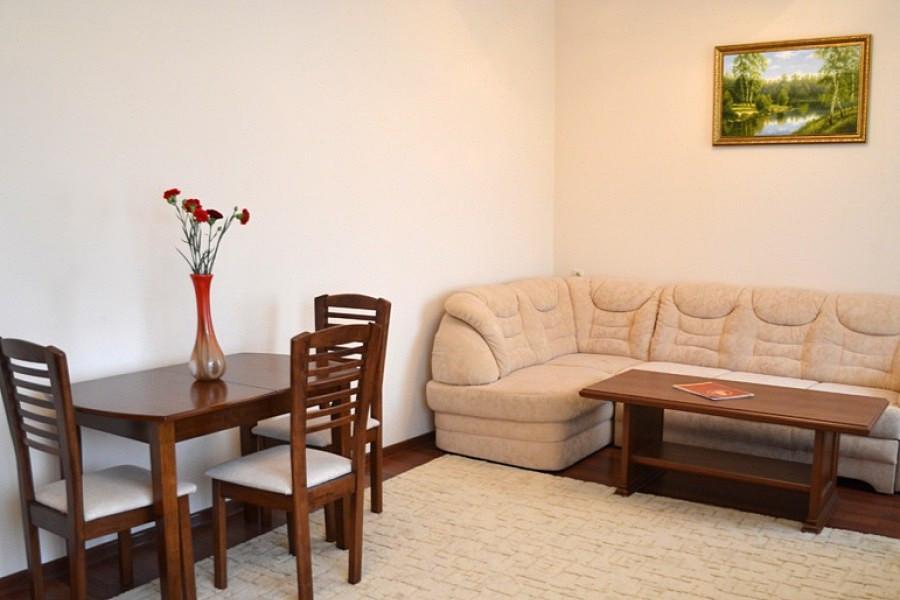 Люкс Семейный двухместный двухкомнатный в Корпусе № 1 отеля Марат