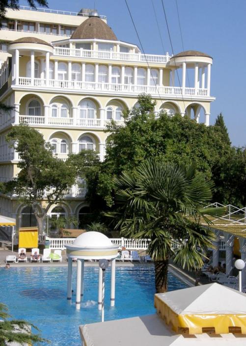 Вилла Чаир на территории отеля Марат