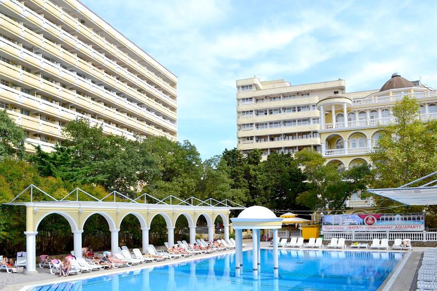 Бассейн отеля Марат