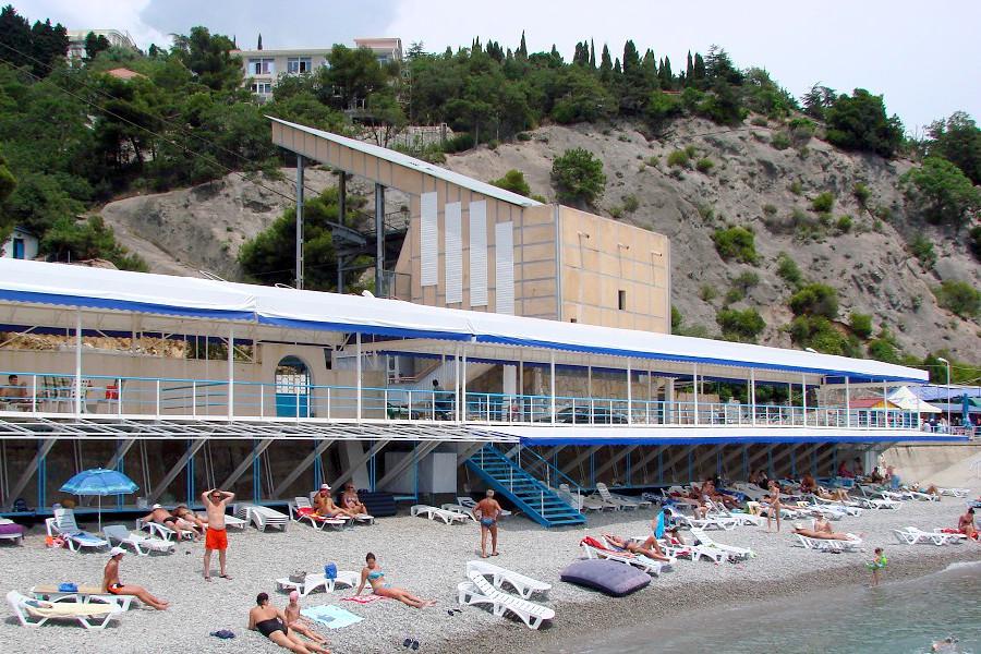Пляж отеля Марат
