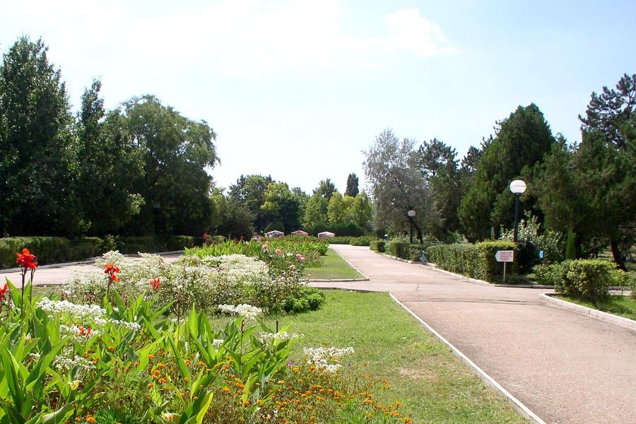 Территория санатория Маяк